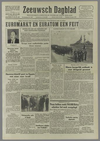 Zeeuwsch Dagblad 1957-03-26
