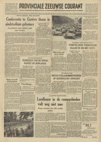 Provinciale Zeeuwse Courant 1954-07-15