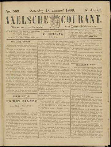 Axelsche Courant 1890-01-18