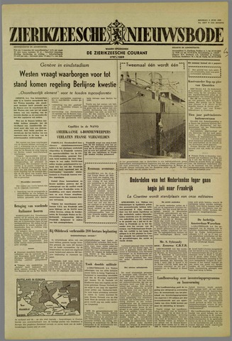 Zierikzeesche Nieuwsbode 1959-06-09
