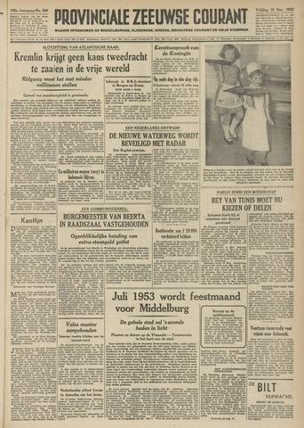Provinciale Zeeuwse Courant 1952-12-19