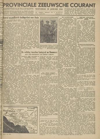 Provinciale Zeeuwse Courant 1944-01-26