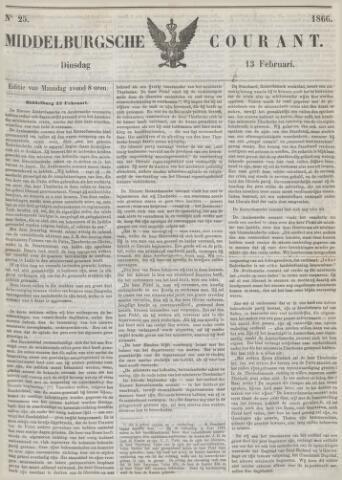 Middelburgsche Courant 1866-02-13