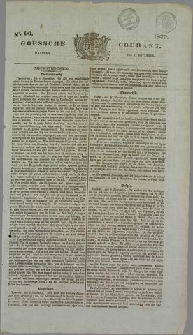 Goessche Courant 1839-11-11