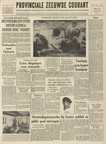 Provinciale Zeeuwse Courant 1962-07-28