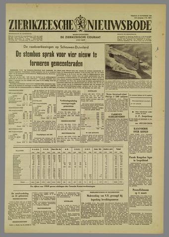 Zierikzeesche Nieuwsbode 1960-11-18