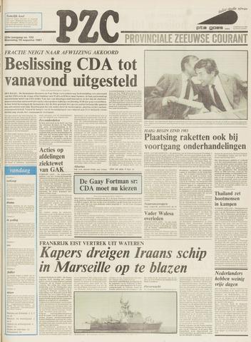 Provinciale Zeeuwse Courant 1981-08-19