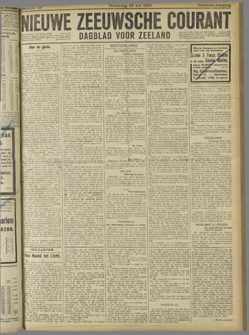 Nieuwe Zeeuwsche Courant 1920-07-29