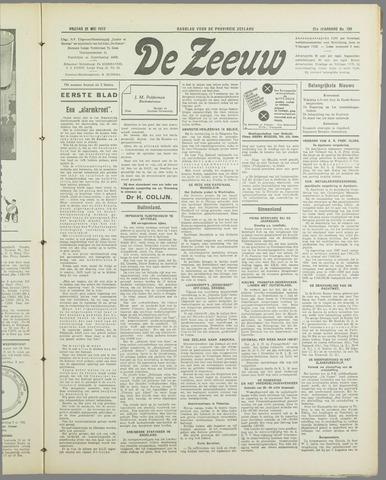 De Zeeuw. Christelijk-historisch nieuwsblad voor Zeeland 1937-05-21