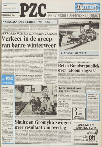 Provinciale Zeeuwse Courant 1985-01-08