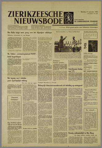 Zierikzeesche Nieuwsbode 1962-09-17