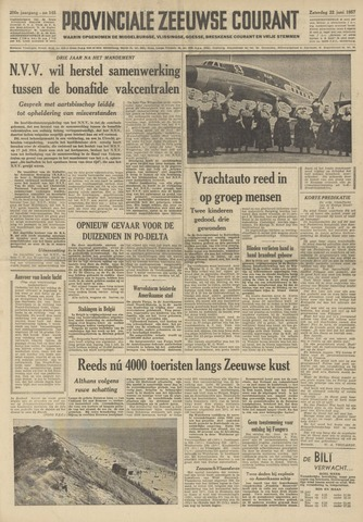 Provinciale Zeeuwse Courant 1957-06-22