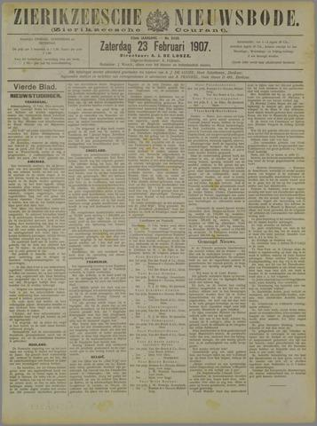 Zierikzeesche Nieuwsbode 1907-02-23