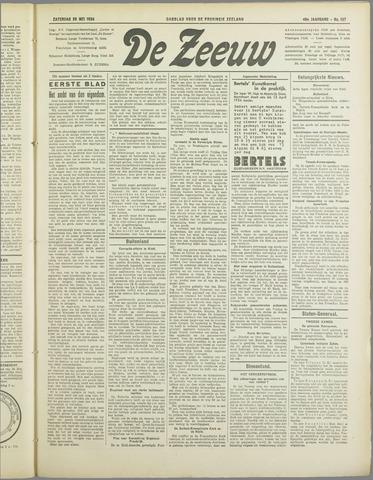 De Zeeuw. Christelijk-historisch nieuwsblad voor Zeeland 1934-05-26