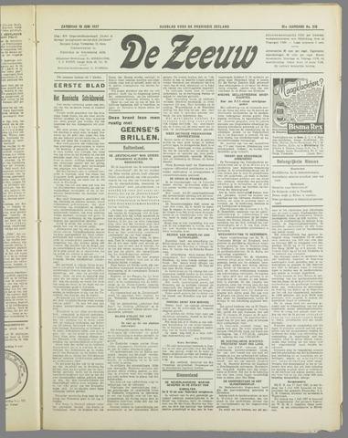 De Zeeuw. Christelijk-historisch nieuwsblad voor Zeeland 1937-06-19
