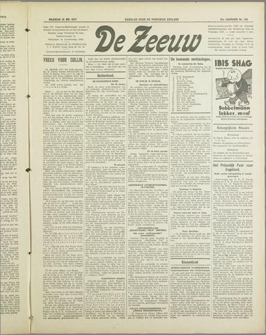 De Zeeuw. Christelijk-historisch nieuwsblad voor Zeeland 1937-05-10