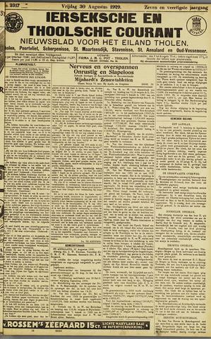 Ierseksche en Thoolsche Courant 1929-08-30