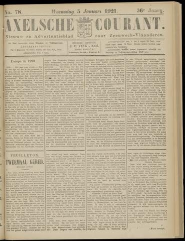 Axelsche Courant 1921-01-05