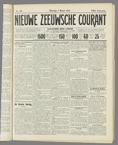 Nieuwe Zeeuwsche Courant 1915-03-02
