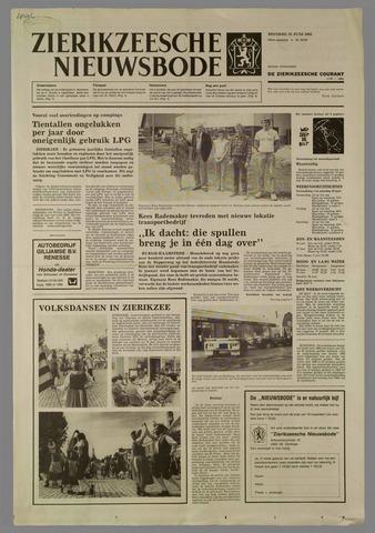 Zierikzeesche Nieuwsbode 1985-06-25