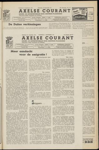 Axelsche Courant 1953-09-09