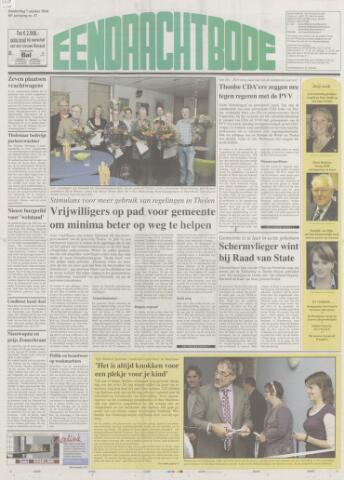 Eendrachtbode (1945-heden)/Mededeelingenblad voor het eiland Tholen (1944/45) 2010-10-07
