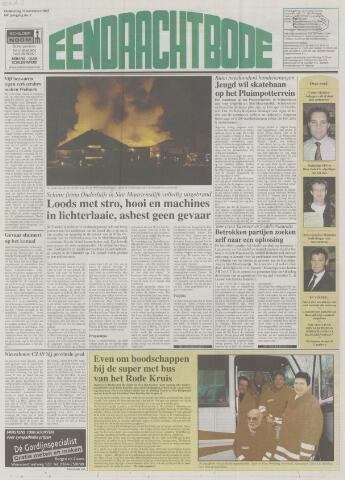 Eendrachtbode (1945-heden)/Mededeelingenblad voor het eiland Tholen (1944/45) 2003-11-27