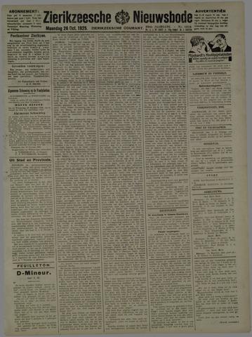 Zierikzeesche Nieuwsbode 1925-10-26
