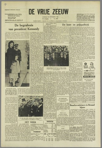 de Vrije Zeeuw 1963-11-26