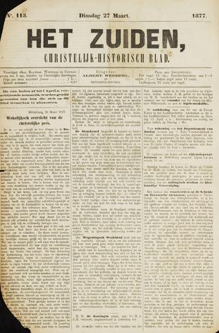 Het Zuiden, Christelijk-historisch blad 1877-03-27