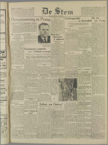de Stem 1948-02-25