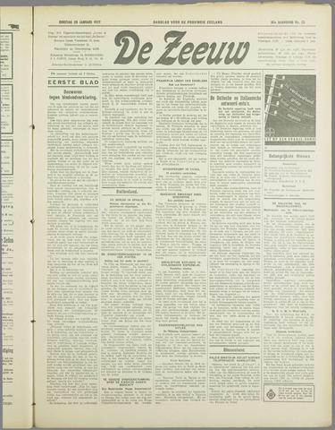De Zeeuw. Christelijk-historisch nieuwsblad voor Zeeland 1937-01-26