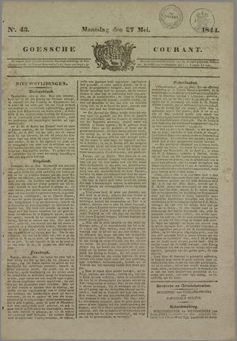 Goessche Courant 1844-05-27