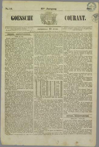 Goessche Courant 1855-07-12