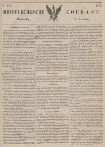 Middelburgsche Courant 1869-12-09