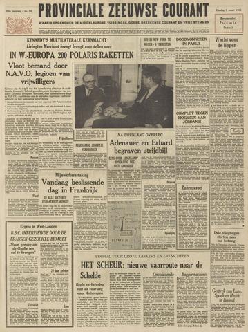 Provinciale Zeeuwse Courant 1963-03-05