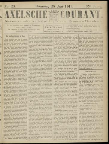 Axelsche Courant 1919-06-25