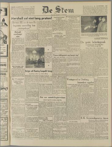 de Stem 1947-11-25