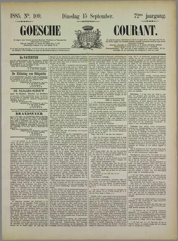 Goessche Courant 1885-09-15