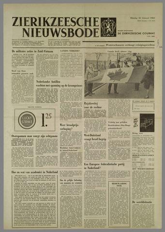 Zierikzeesche Nieuwsbode 1965-02-16