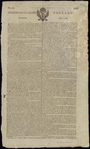 Middelburgsche Courant 1814-07-07