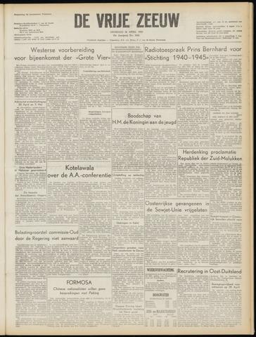 de Vrije Zeeuw 1955-04-26