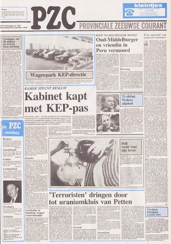 Provinciale Zeeuwse Courant 1988-11-30