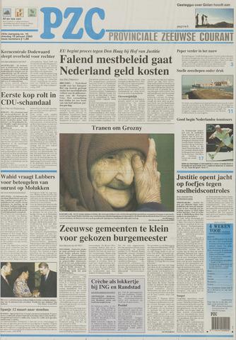 Provinciale Zeeuwse Courant 2000-01-18