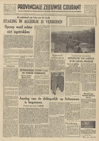 Provinciale Zeeuwse Courant 1958-10-16