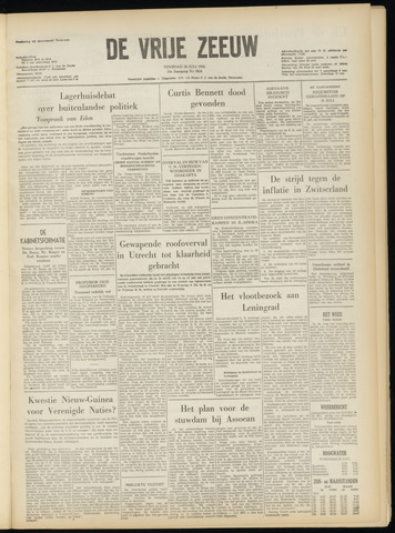 de Vrije Zeeuw 1956-07-24