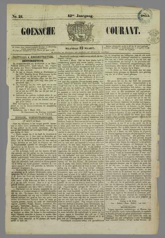 Goessche Courant 1855-03-12