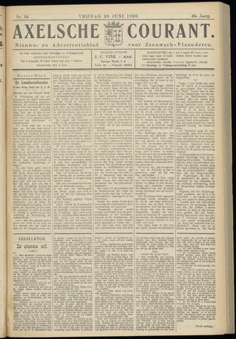Axelsche Courant 1930-06-20