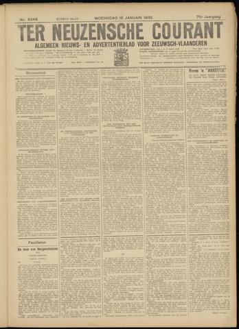 Ter Neuzensche Courant. Algemeen Nieuws- en Advertentieblad voor Zeeuwsch-Vlaanderen / Neuzensche Courant ... (idem) / (Algemeen) nieuws en advertentieblad voor Zeeuwsch-Vlaanderen 1935-01-16