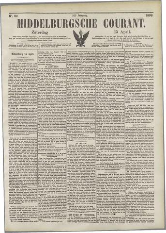 Middelburgsche Courant 1899-04-15